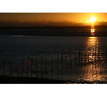 Sunset on the Solway Photographic Print