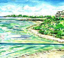 Woodneck Beach by mleboeuf