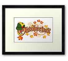 Oktoberfest Framed Print