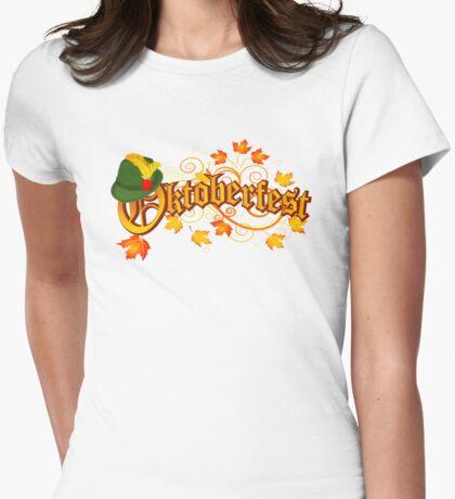 Oktoberfest Womens Fitted T-Shirt
