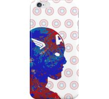 "A Splash of Heroism: ""Captain America"" iPhone Case/Skin"