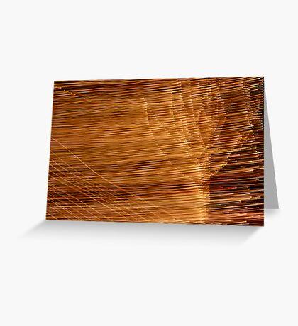 Suburb Light Series - Xmas Wind Greeting Card
