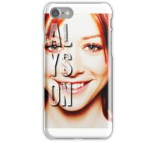 ALyson Hannigan  iPhone Case/Skin