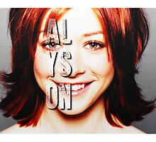 ALyson Hannigan  by ManonTheSlayer