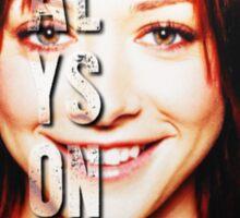 ALyson Hannigan  Sticker