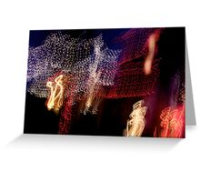 Suburb Christmas Light Series - The Shepherd's Company Greeting Card