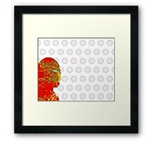 "A Splash of Heroism: ""Iron Man"" Framed Print"