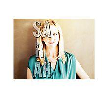 Sarah Michelle Gellar Photographic Print