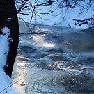 Icy Stream by Ritva Ikonen