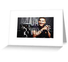 Dvid Boreanaz Greeting Card