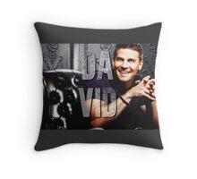 Dvid Boreanaz Throw Pillow