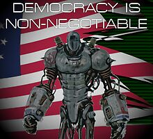 Fallout 3 | Liberty Prime (WITH QUOTE) by Shaun Finbarr Swann