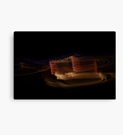 Suburb Christmas Light Series - The other Reindeer Canvas Print