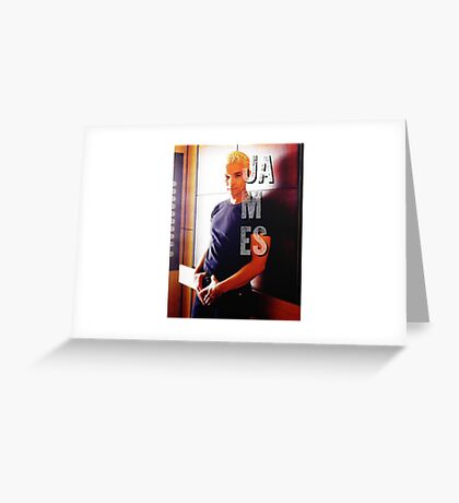 James Marsters Greeting Card
