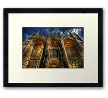 Acclamation - Peterborough Cathedral Framed Print