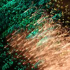 Suburb Christmas Light Series - Xmas Emerald by David J. Hudson