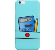 The Calculator Doesn't Lie  iPhone Case/Skin