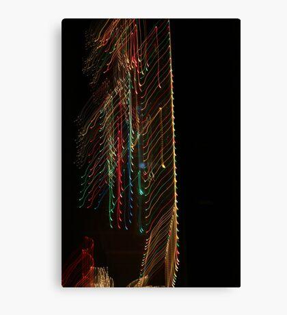 Suburb Christmas Light Series -  Xmas Backbone Canvas Print