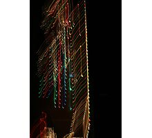 Suburb Christmas Light Series -  Xmas Backbone Photographic Print