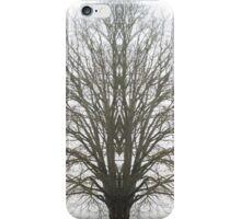 The Stark Tree Amongst Fog iPhone Case/Skin