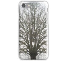 The Stark Tree Amongst Fog iPhone Case/Skin