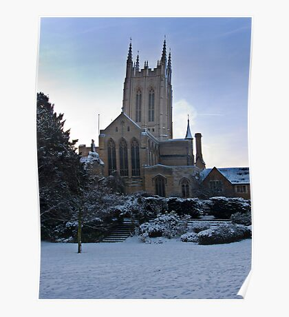 St Edmunds cathedral Poster