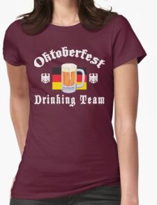 Oktoberfest Drinking Team Womens Fitted T-Shirt