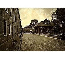 The Side Streets of Marietta Square Photographic Print
