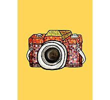 Patchwork Camera Photographic Print