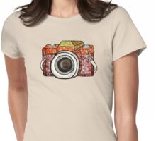 Patchwork Camera T-Shirt