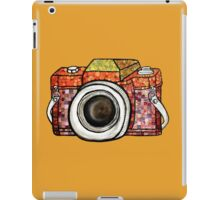 Patchwork Camera iPad Case/Skin