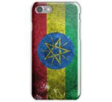 Ethiopia Grunge  iPhone Case/Skin