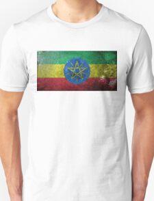 Ethiopia Grunge  T-Shirt