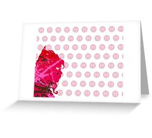 "A Splash of Heroism: ""Scarlet Witch"" Greeting Card"
