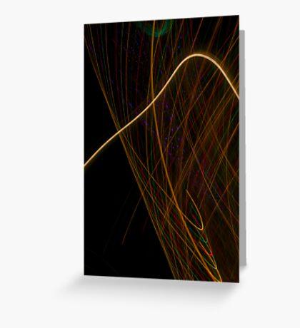 Suburb Christmas Light Series - Xmas Hook Greeting Card