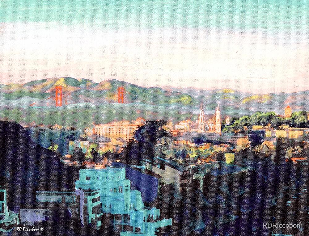 San Francisco California North to Goldengate by RDRiccoboni