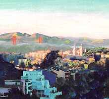 San Francisco California North to Goldengate by RDRiccoboni