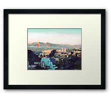 San Francisco California North to Goldengate Framed Print
