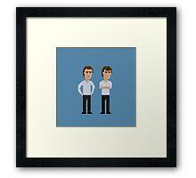 Schelotto Twins Framed Print