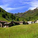 Alpine village  by annalisa bianchetti