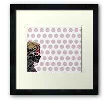 "A Splash of Heroism: ""Hawkeye"" Framed Print"