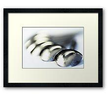Spoons, full of mirrors Framed Print