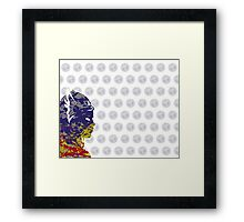 "A Splash of Heroism: ""Thor"" Framed Print"