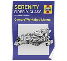 Serenity - Owners' Manual Poster