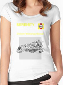Serenity - Owners' Manual Women's Fitted Scoop T-Shirt
