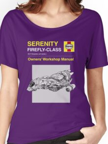 Serenity - Owners' Manual Women's Relaxed Fit T-Shirt