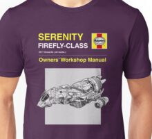 Serenity - Owners' Manual Unisex T-Shirt