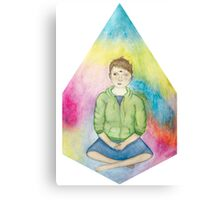 Sitting Enby Canvas Print
