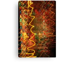 Suburb Christmas Light Series - Xmas Hangover Canvas Print