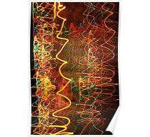 Suburb Christmas Light Series - Xmas Hangover Poster